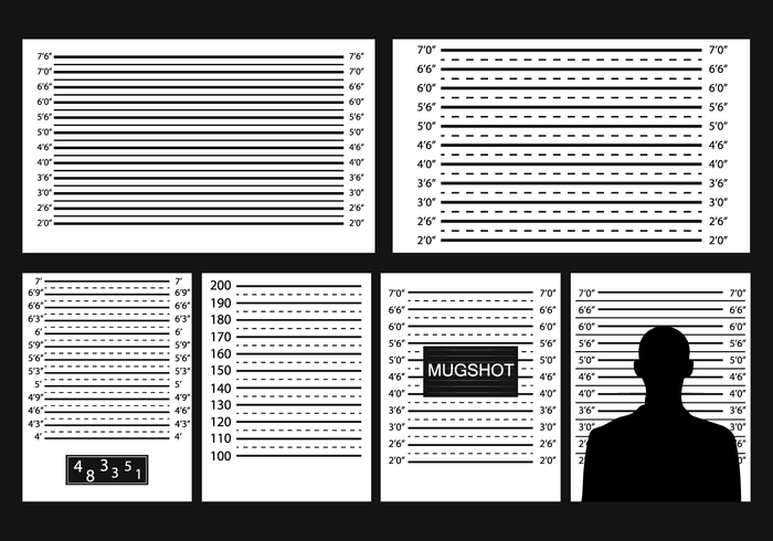 Free Mugshot Background Vector