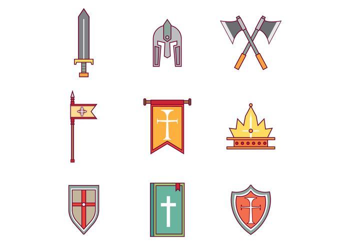 Gratis Templar Vector