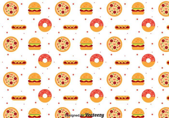 Flat Food Pattern
