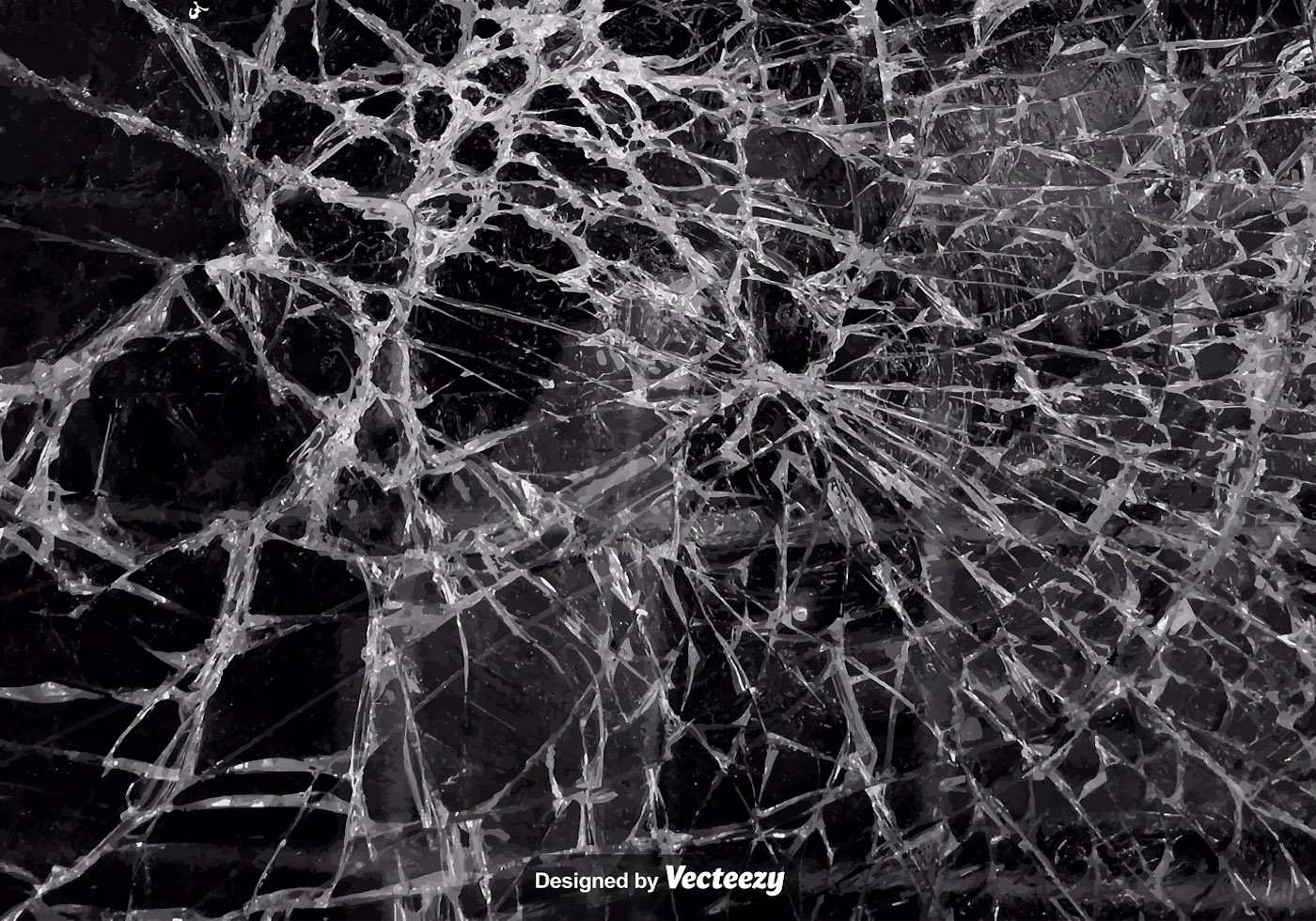 Vector Realistic Texture Of Cracked Glass Download Free