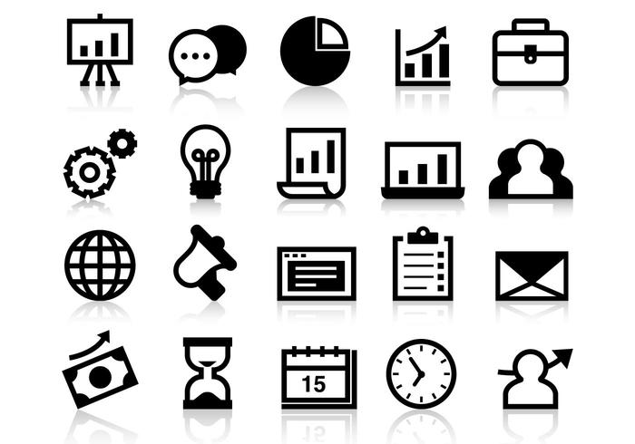 business grow up icons vector