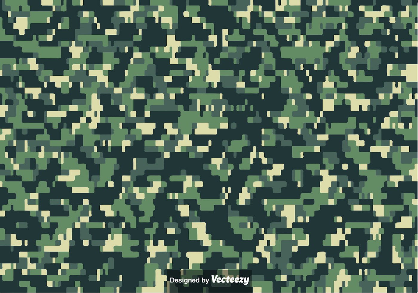 Army Camo Pattern Simple Decorating Ideas