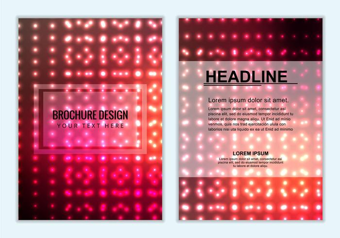 Free Vector Colorful Brochure Background