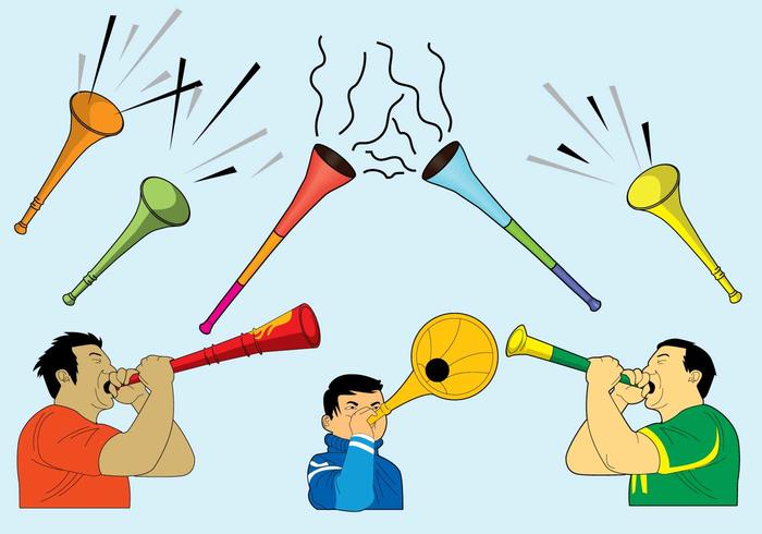 Kostenlose Vuvuzela Icons
