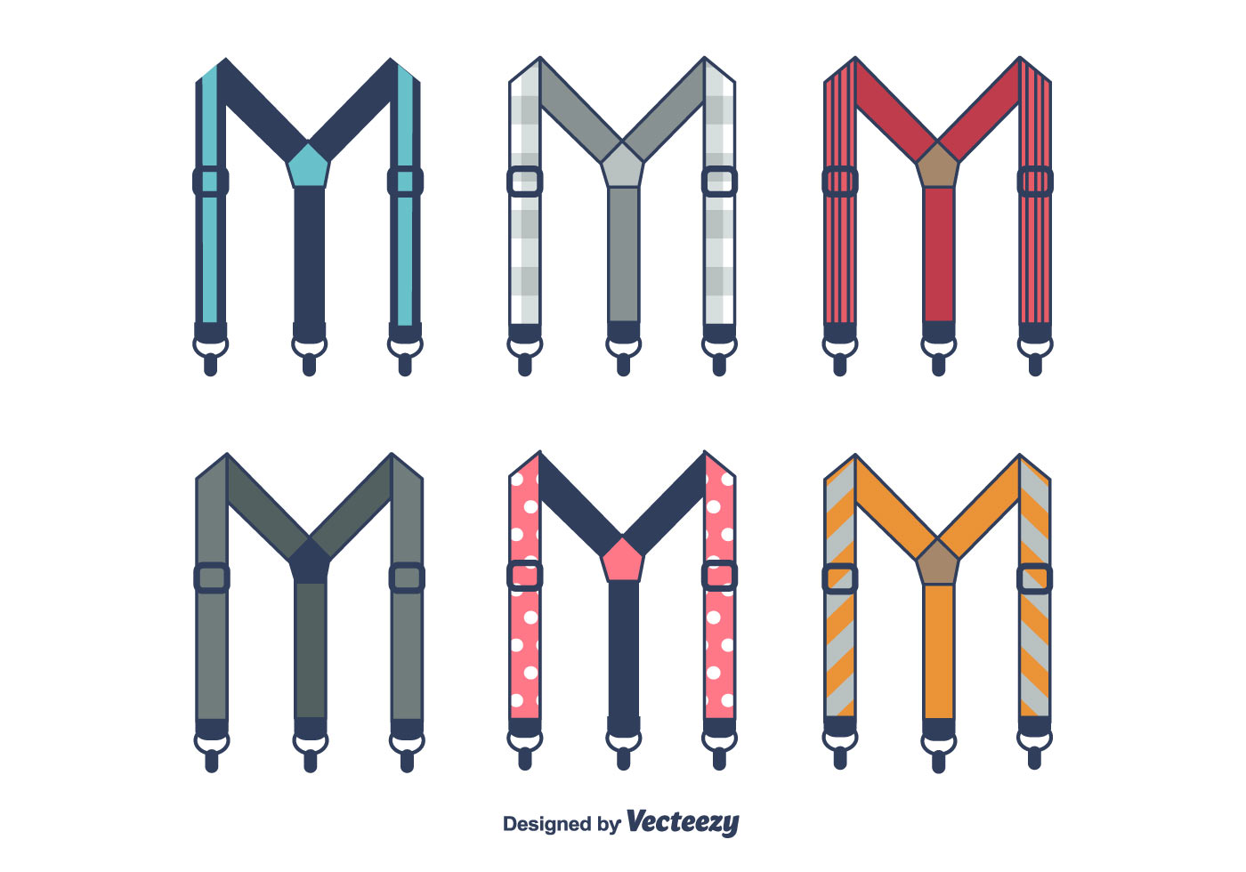 Suspenders Vector Download Free Vector Art Stock