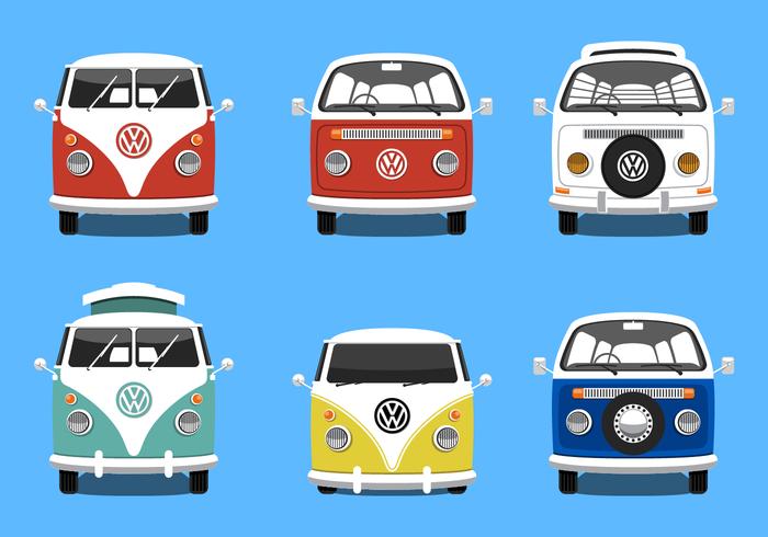 VW Camper Vector Grátis