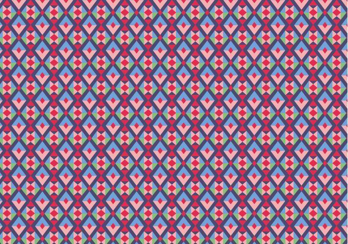 Paars Geometrisch Patroon