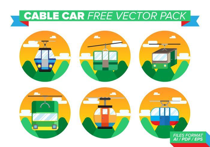 Kabelbil Gratis Vector Pack
