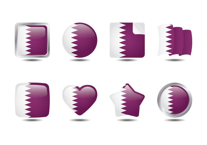 Qatar flaggsamling