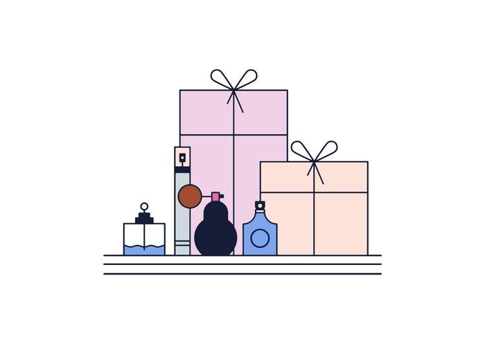 Kostenlose Parfums Vektor