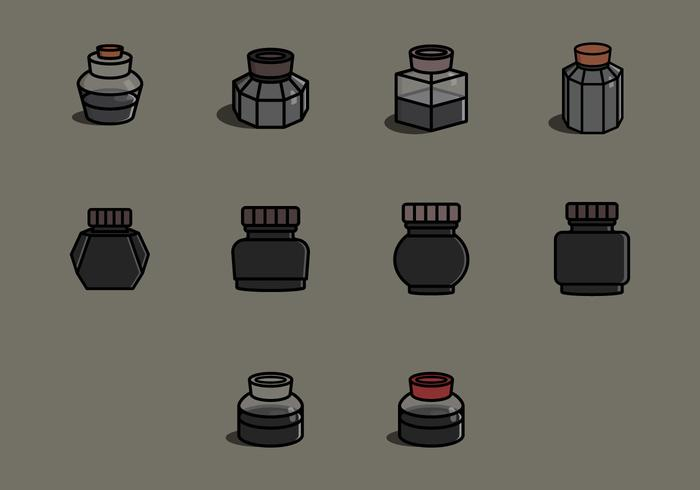 Ink Pot Icon