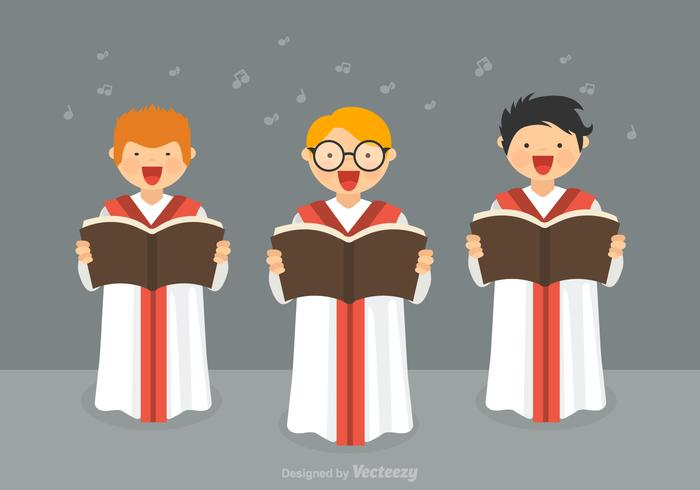 Free Boys Choir Vector