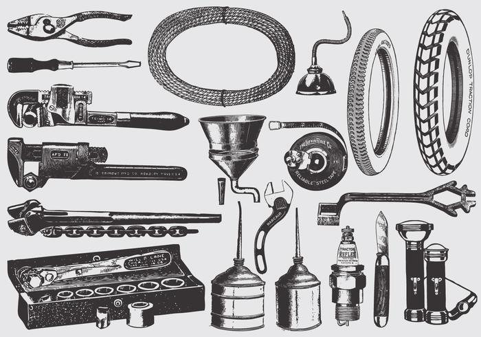 Vintage Mechanic Tools