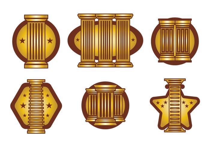 Römische Säule Vektor
