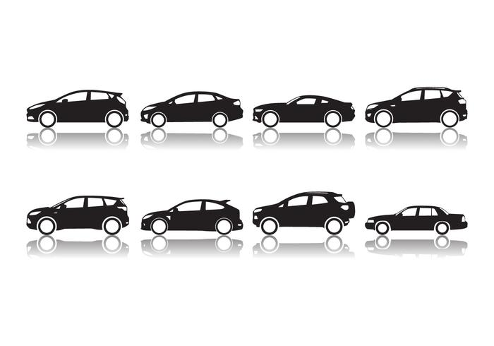 Gratis Ford Car Silhouette Vector