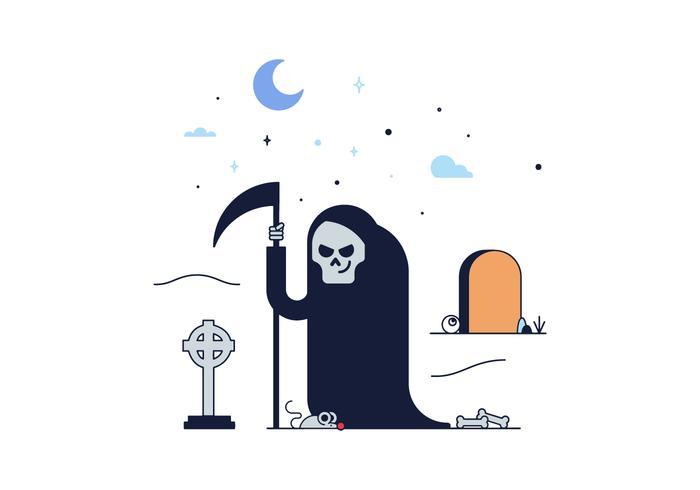 Free Grim Reaper Death Vector