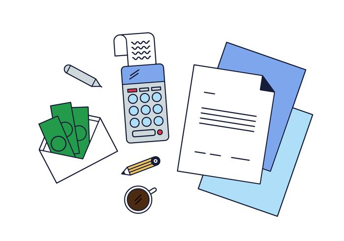 Gratis Business en Accounting Vector