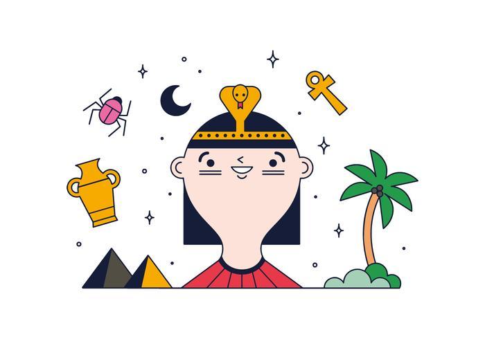 Gratis Cleopatra Vector
