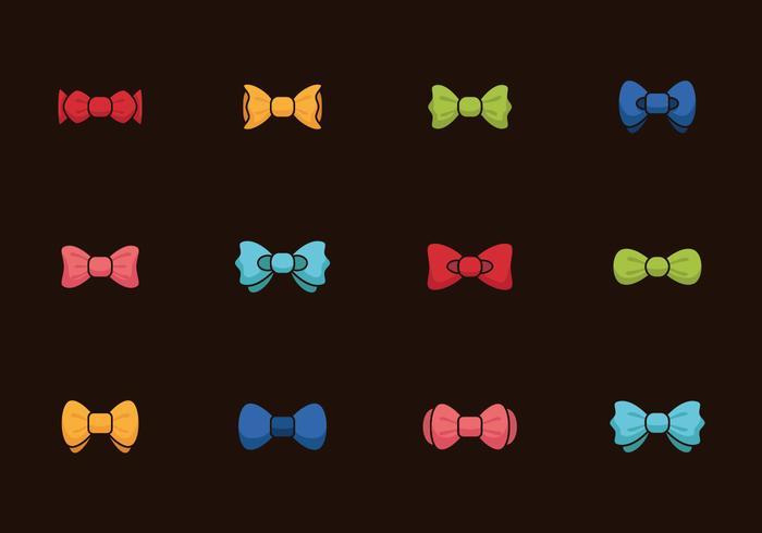 Bow Tie Colors Vintage