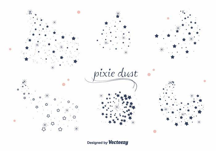 Pixie damm vektor