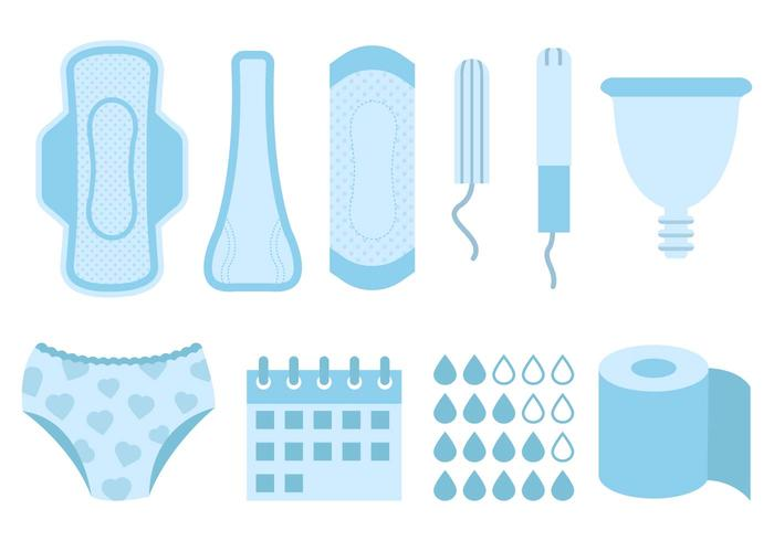 Free Feminine Hygiene Products Vector