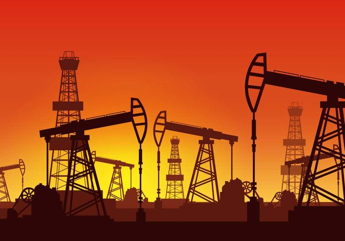 Vector Oil Rig gratis