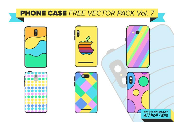 Phone Case Free Vector Pack Vol. 7