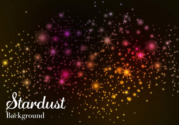 Free Stardust Background Vector