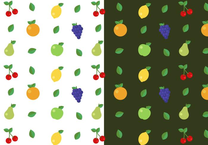 Free Fruit Pattern Vector