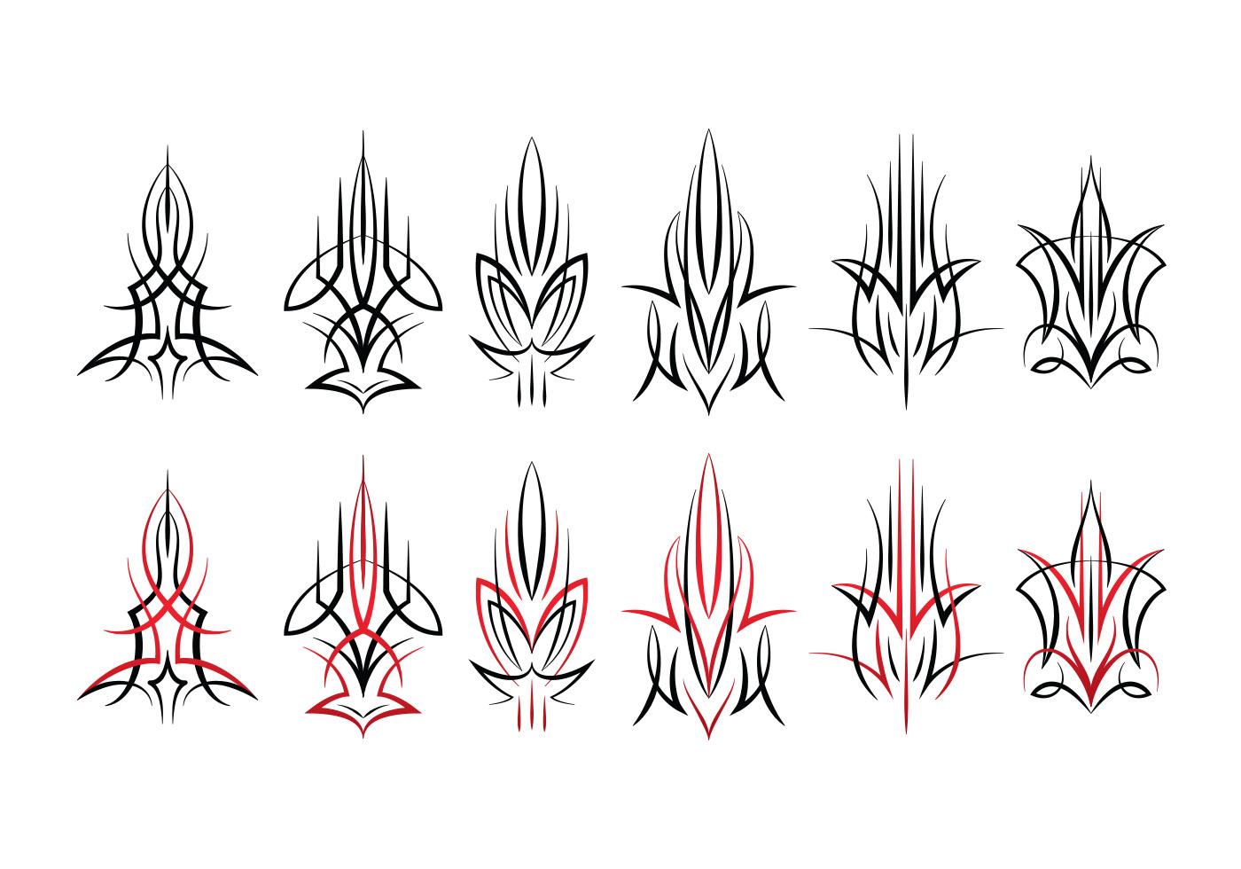 Pinstripes Design Download Free Vectors Clipart