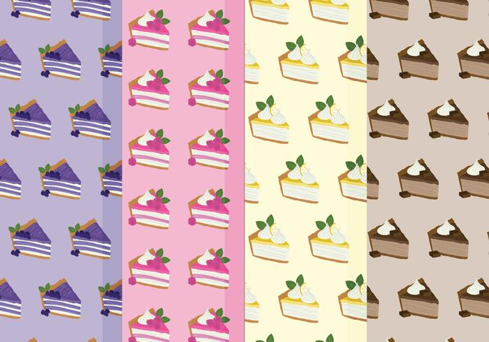 Vector Pies Pattern