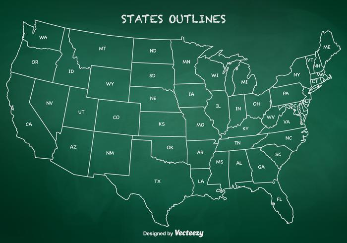 state outlines vector download free vector art stock graphics
