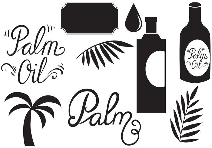 Palm Oil Vectors