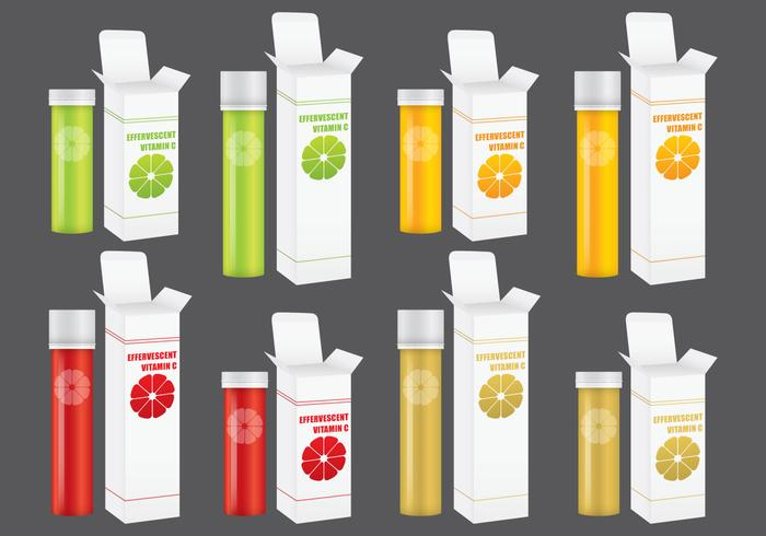 Effervescent Vitamine Packs