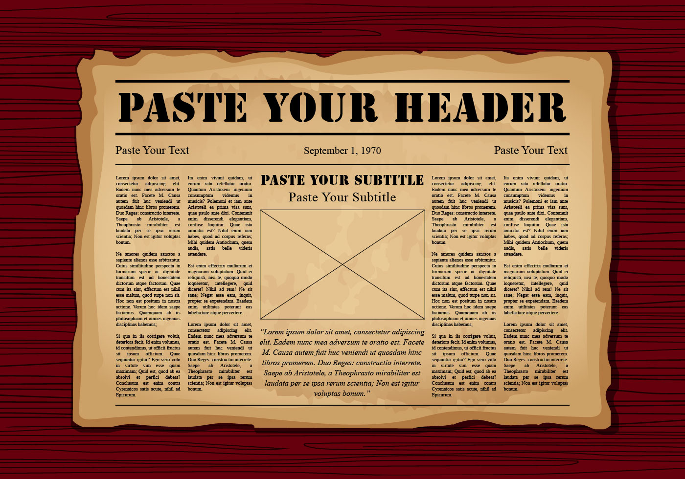 Old Newspaper - Download Free Vector Art, Stock Graphics ...