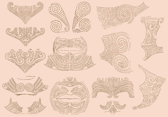 Maori Tatueringar