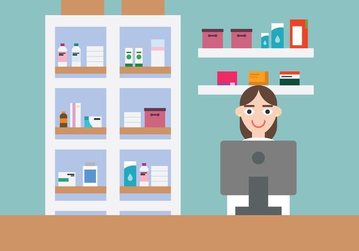 Farmacia vetor