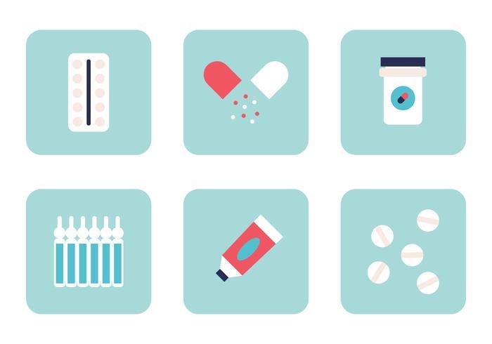 Conjunto de medicamentos