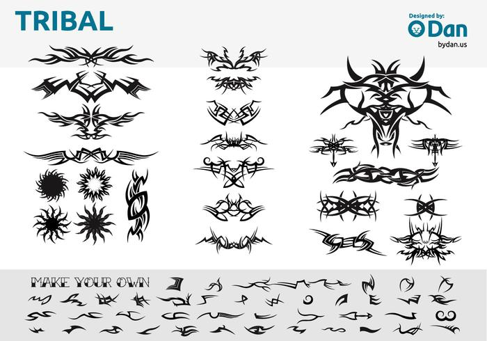 Tribal Vectors by Dan
