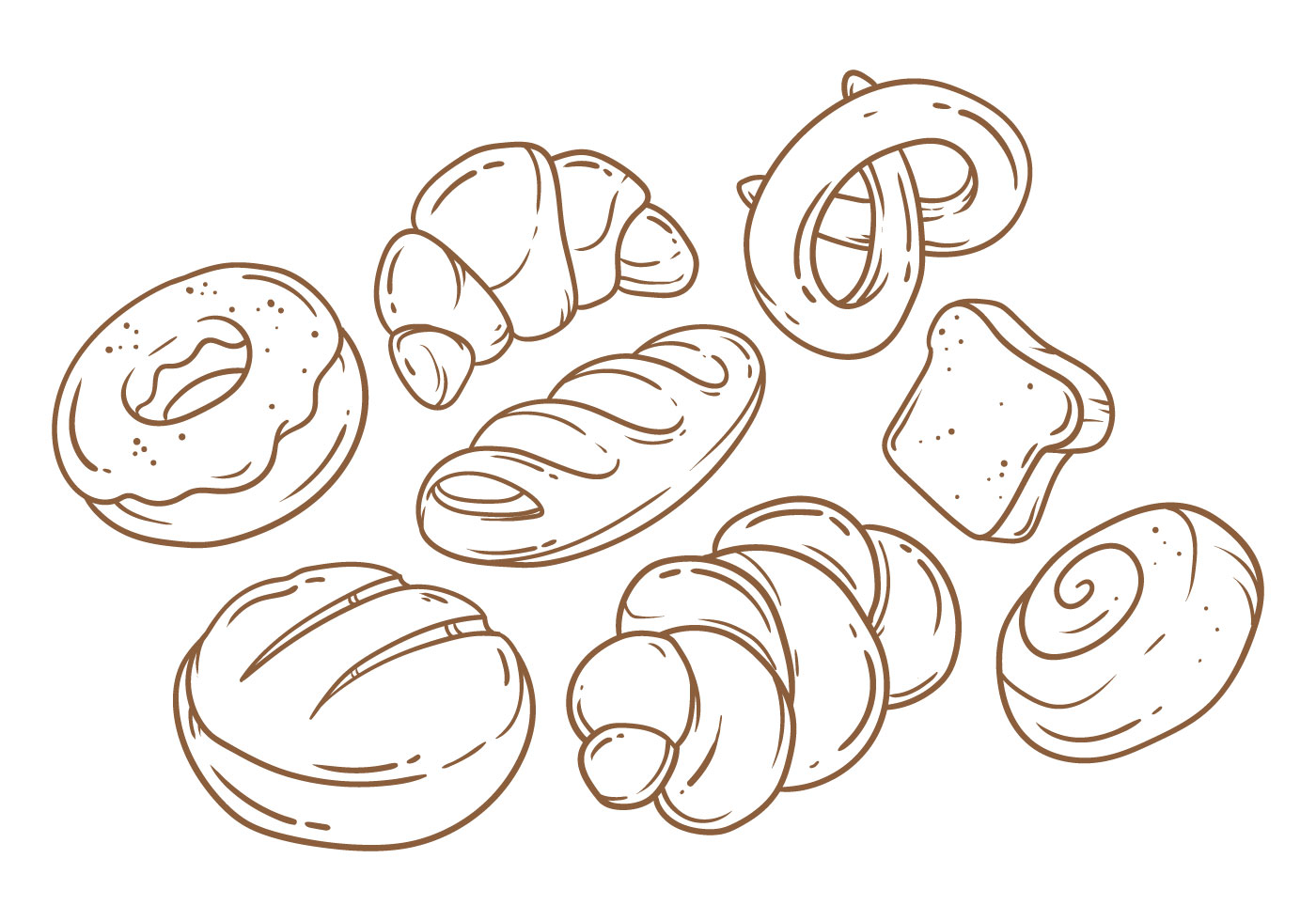 Bread Free Vector Art 8451 Free Downloads