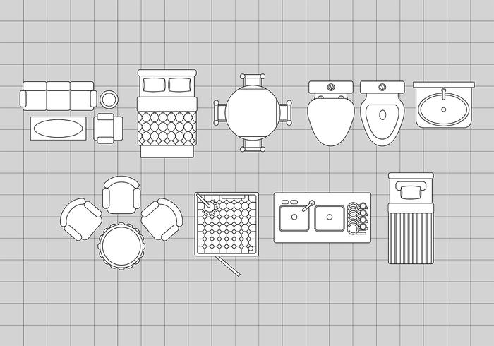 Floorplan Icons