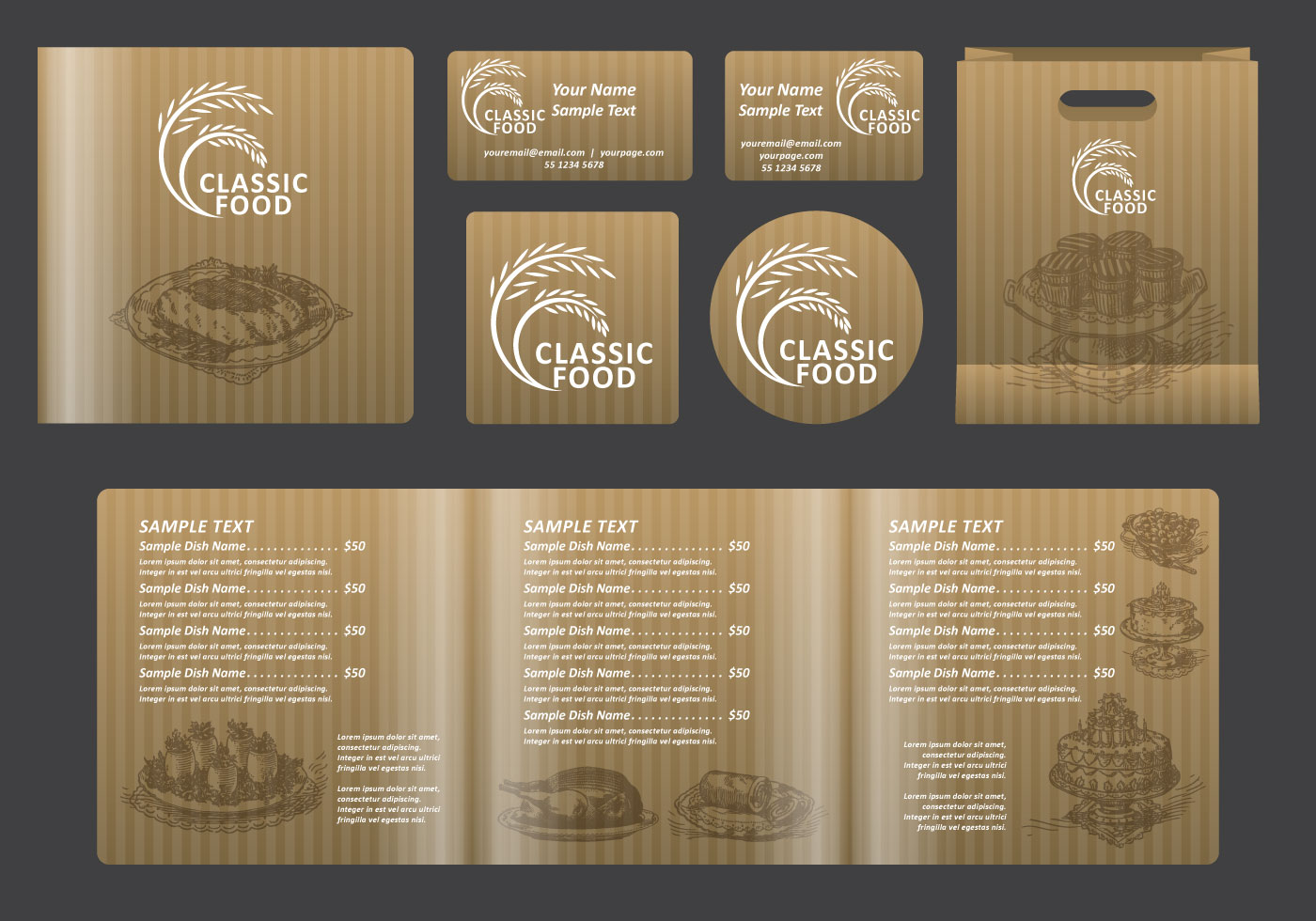 Restaurant Menu Design - (2106 Free Downloads)