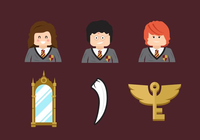 Hogwarts Free Vector Pack Vol. 5