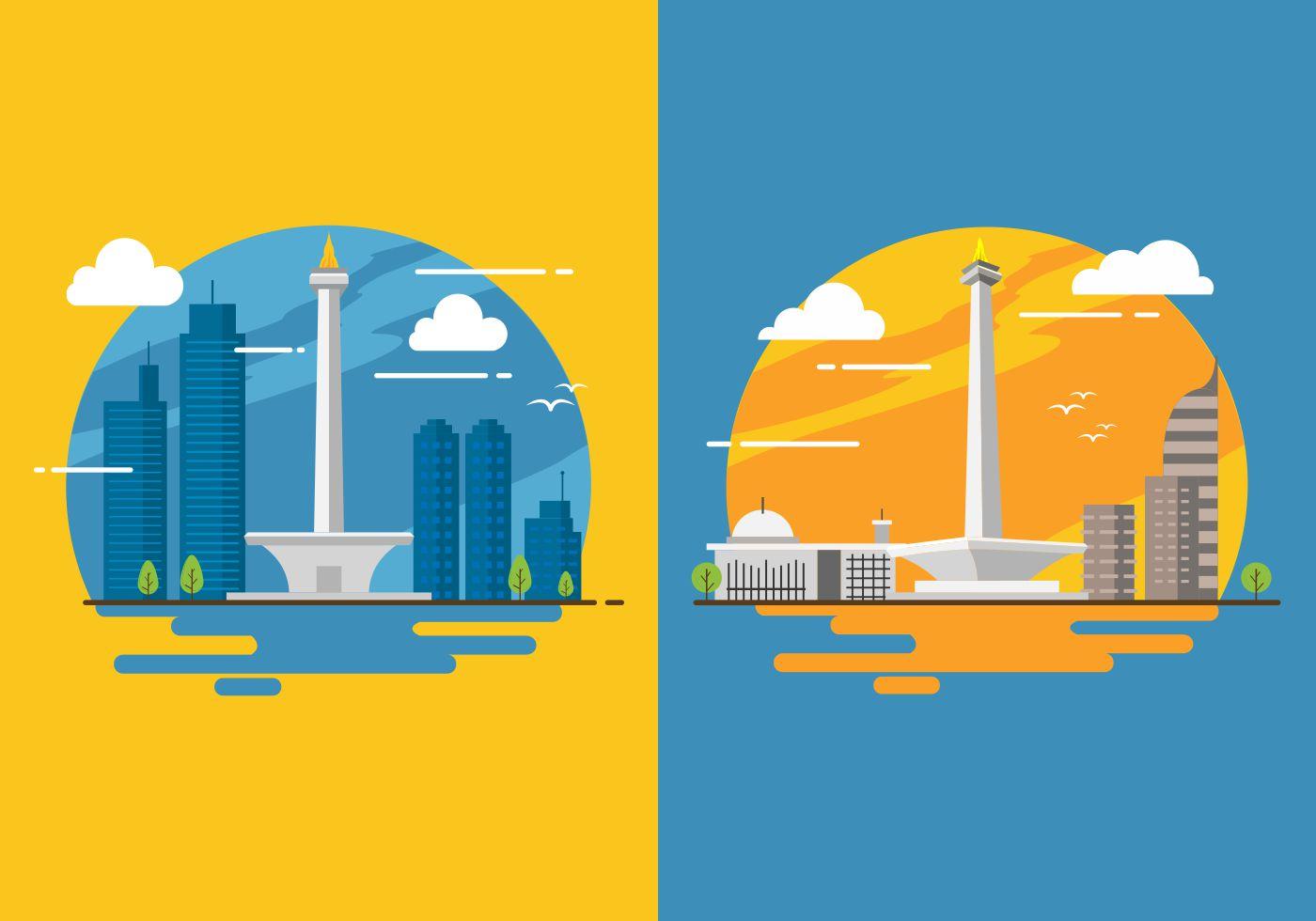 Jakarta Free Vector Art 383 Free Downloads