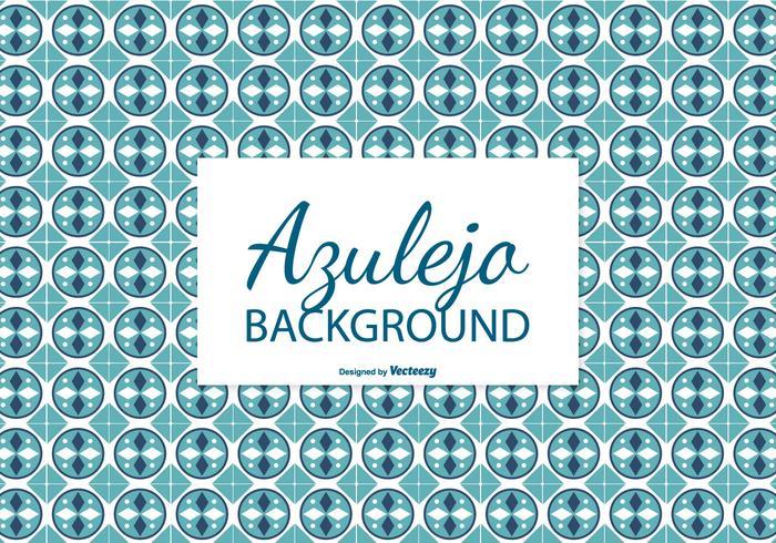 Circular Azulejo Tile Background