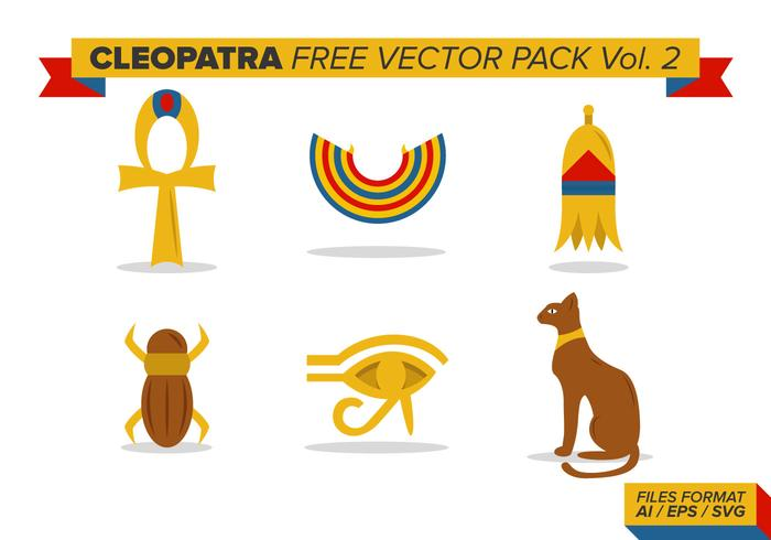 Cleopatra Free Vector Pack Vol. 2