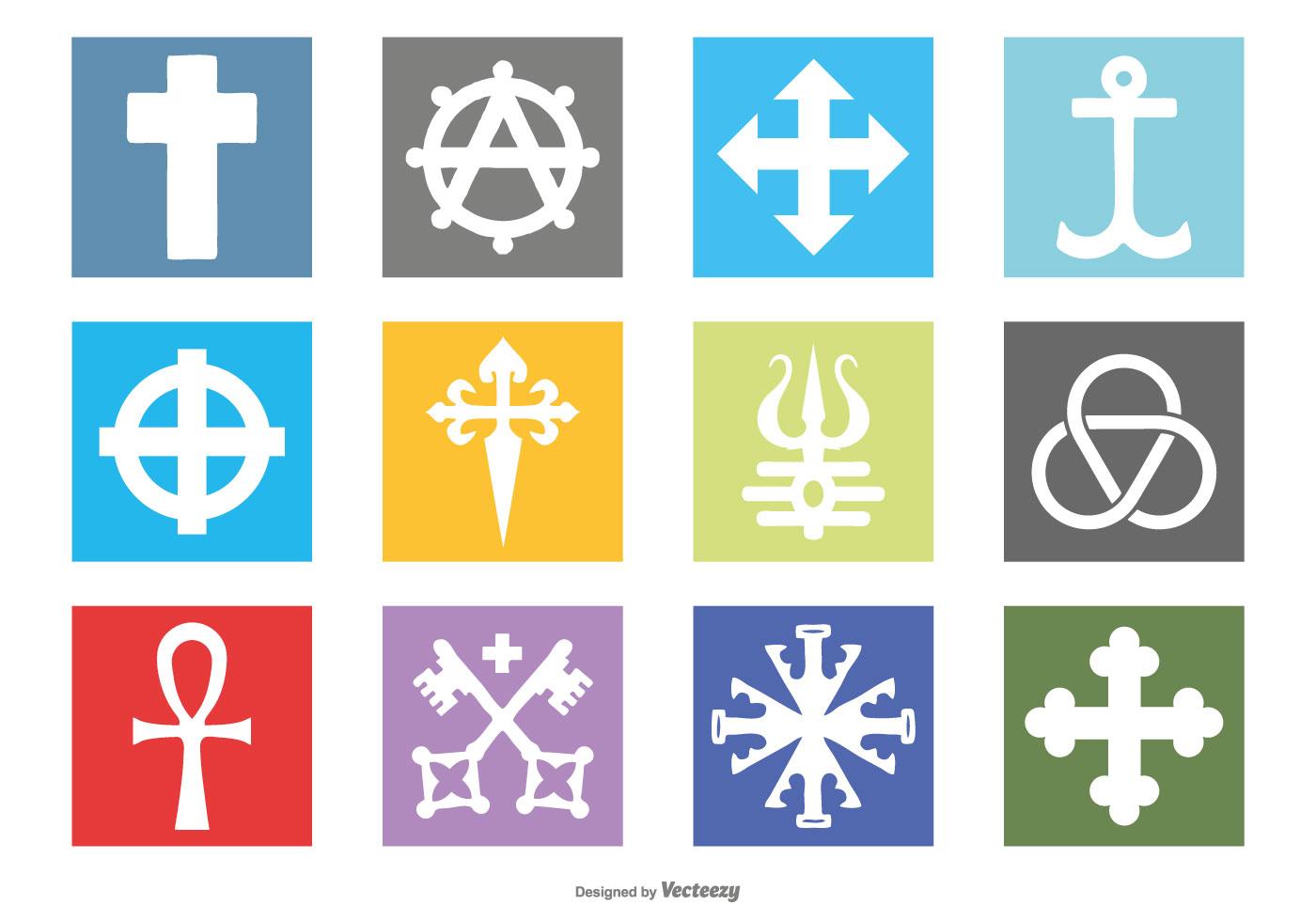 Religious Symbols Free Vector Art 30907 Free Downloads