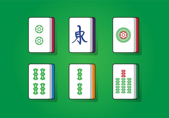 Quadrado de sorte mahjong