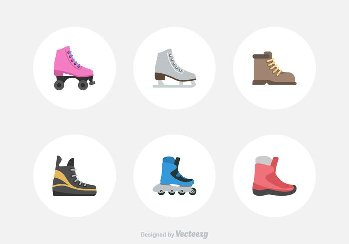 Free Sport Shoes Vector Icons