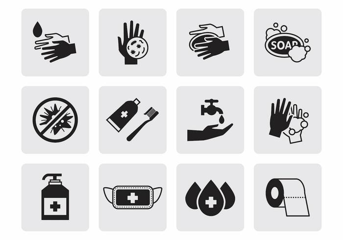 Free Hygiene Icons Vector